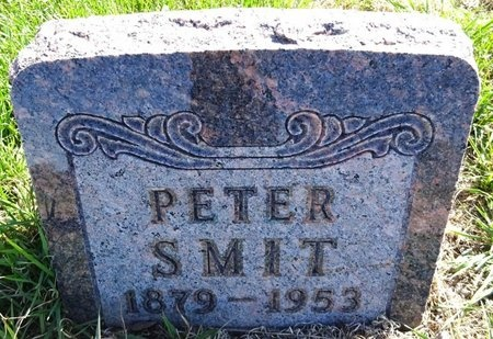 SMIT, PETER - Pennington County, South Dakota   PETER SMIT - South Dakota Gravestone Photos