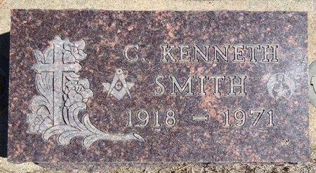 SMITH, C. KENNETH - Pennington County, South Dakota   C. KENNETH SMITH - South Dakota Gravestone Photos