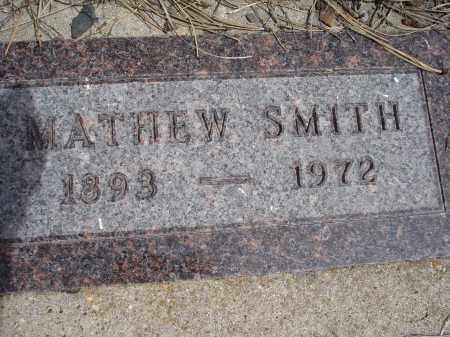 SMITH, MATHEW - Pennington County, South Dakota   MATHEW SMITH - South Dakota Gravestone Photos