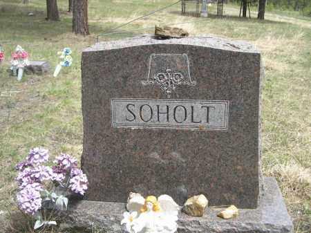 SOHOLT, FAMILY - Pennington County, South Dakota | FAMILY SOHOLT - South Dakota Gravestone Photos