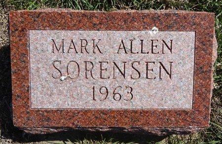 SORENSEN, MARK ALLEN - Pennington County, South Dakota | MARK ALLEN SORENSEN - South Dakota Gravestone Photos