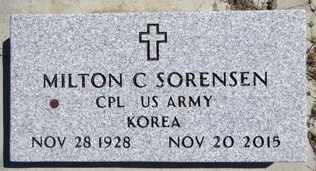 SORENSEN, MILTON - Pennington County, South Dakota | MILTON SORENSEN - South Dakota Gravestone Photos