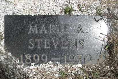 STEVEN, MARIE A. - Pennington County, South Dakota   MARIE A. STEVEN - South Dakota Gravestone Photos