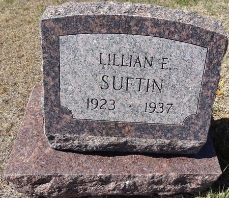 SUFTIN, LILLIAN - Pennington County, South Dakota | LILLIAN SUFTIN - South Dakota Gravestone Photos