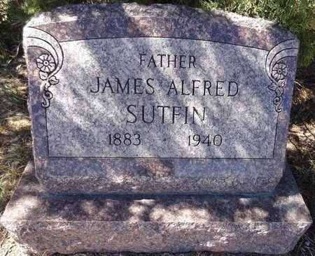 SUTFIN, JAMES ALFRED - Pennington County, South Dakota | JAMES ALFRED SUTFIN - South Dakota Gravestone Photos