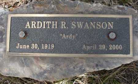 SWANSON, ARDITH R. - Pennington County, South Dakota | ARDITH R. SWANSON - South Dakota Gravestone Photos