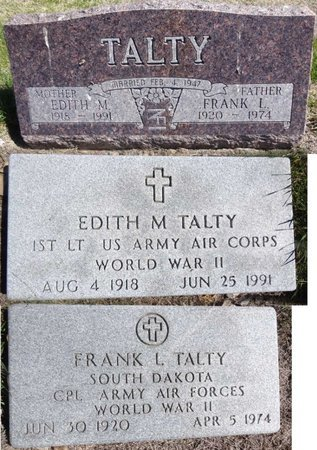 FURRY TALTY, EDITH - Pennington County, South Dakota | EDITH FURRY TALTY - South Dakota Gravestone Photos