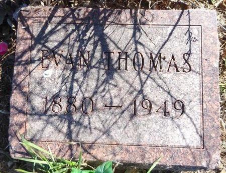 THOMAS, EVAN - Pennington County, South Dakota | EVAN THOMAS - South Dakota Gravestone Photos
