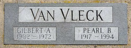 VAN VLECK, GILBERT - Pennington County, South Dakota | GILBERT VAN VLECK - South Dakota Gravestone Photos