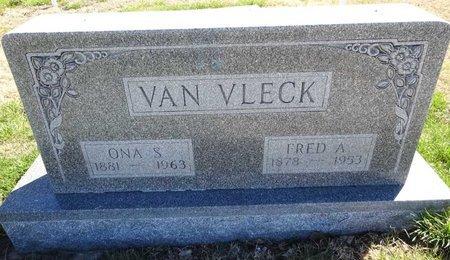 VAN VLECK, FRED - Pennington County, South Dakota | FRED VAN VLECK - South Dakota Gravestone Photos