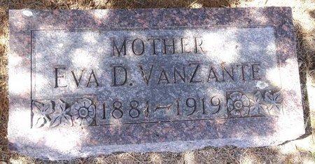 VANZANTE, EVA - Pennington County, South Dakota | EVA VANZANTE - South Dakota Gravestone Photos