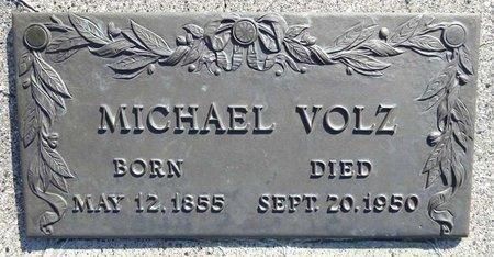 VOLZ, MICHAEL - Pennington County, South Dakota   MICHAEL VOLZ - South Dakota Gravestone Photos