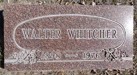 WHITCHER, WALTER - Pennington County, South Dakota   WALTER WHITCHER - South Dakota Gravestone Photos
