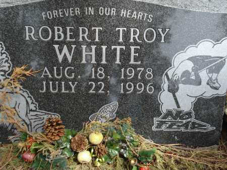 WHITE, ROBERT TROY - Pennington County, South Dakota | ROBERT TROY WHITE - South Dakota Gravestone Photos