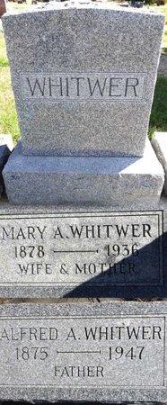 WHITWER, ALFRED - Pennington County, South Dakota | ALFRED WHITWER - South Dakota Gravestone Photos