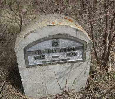 WIDNER, ELLA MAY - Pennington County, South Dakota | ELLA MAY WIDNER - South Dakota Gravestone Photos