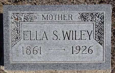 WILEY, ELLA - Pennington County, South Dakota | ELLA WILEY - South Dakota Gravestone Photos