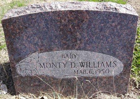 WILLIAMS, MONTY - Pennington County, South Dakota   MONTY WILLIAMS - South Dakota Gravestone Photos