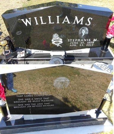 WILLIAMS, STEPHANIE - Pennington County, South Dakota | STEPHANIE WILLIAMS - South Dakota Gravestone Photos