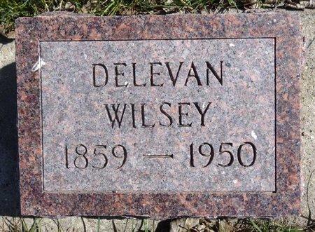 WILSEY, DELEVAN - Pennington County, South Dakota   DELEVAN WILSEY - South Dakota Gravestone Photos