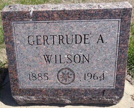 WILSON, GERTRUDE - Pennington County, South Dakota   GERTRUDE WILSON - South Dakota Gravestone Photos