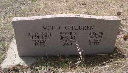 WOOD, CLARENCE A - Pennington County, South Dakota | CLARENCE A WOOD - South Dakota Gravestone Photos
