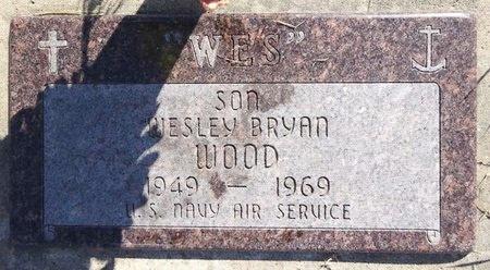 WOOD, WESLEY BRYAN - Pennington County, South Dakota   WESLEY BRYAN WOOD - South Dakota Gravestone Photos
