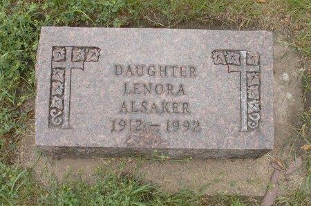 ALSAKER, LENORA - Roberts County, South Dakota   LENORA ALSAKER - South Dakota Gravestone Photos