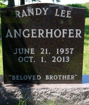 ANGERHOFER, RANDY LEE - Roberts County, South Dakota | RANDY LEE ANGERHOFER - South Dakota Gravestone Photos