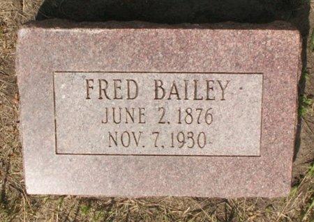 BAILEY, FRED - Roberts County, South Dakota | FRED BAILEY - South Dakota Gravestone Photos