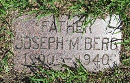 BERG, JOSEPH M. - Roberts County, South Dakota   JOSEPH M. BERG - South Dakota Gravestone Photos