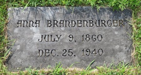 BRANDENBURGER, ANNA - Roberts County, South Dakota | ANNA BRANDENBURGER - South Dakota Gravestone Photos