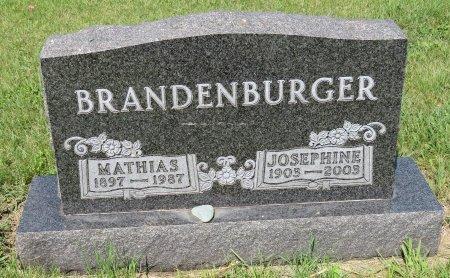 BRANDENBURGER, MATHIAS - Roberts County, South Dakota | MATHIAS BRANDENBURGER - South Dakota Gravestone Photos