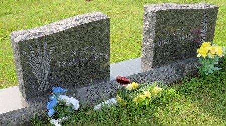 BRANDENBURGER, NICK - Roberts County, South Dakota   NICK BRANDENBURGER - South Dakota Gravestone Photos