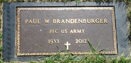 BRANDENBURGER, PAUL W - Roberts County, South Dakota | PAUL W BRANDENBURGER - South Dakota Gravestone Photos