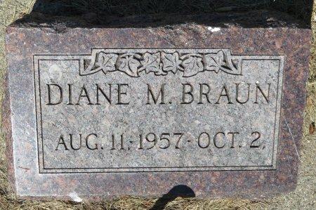 BRAUN, DIANE M. - Roberts County, South Dakota   DIANE M. BRAUN - South Dakota Gravestone Photos