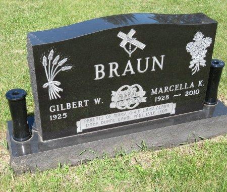 BRAUN, GILBERT W. - Roberts County, South Dakota | GILBERT W. BRAUN - South Dakota Gravestone Photos