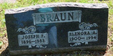 BRAUN, ELENORA A. - Roberts County, South Dakota | ELENORA A. BRAUN - South Dakota Gravestone Photos