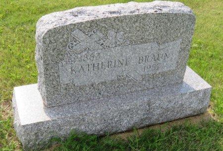 BRAUN, KATHERINE - Roberts County, South Dakota | KATHERINE BRAUN - South Dakota Gravestone Photos