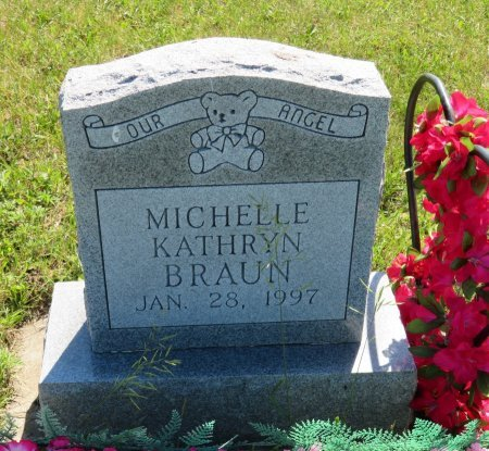 BRAUN, MICHELLE KATHRYN - Roberts County, South Dakota | MICHELLE KATHRYN BRAUN - South Dakota Gravestone Photos