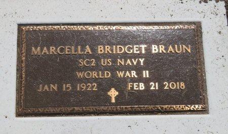 BRAUN, MARCELLA BRIDGET - Roberts County, South Dakota   MARCELLA BRIDGET BRAUN - South Dakota Gravestone Photos