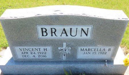 BRAUN, VINCENT H. - Roberts County, South Dakota | VINCENT H. BRAUN - South Dakota Gravestone Photos