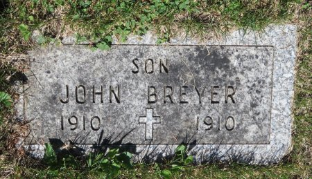 BREYER, JOHN - Roberts County, South Dakota | JOHN BREYER - South Dakota Gravestone Photos