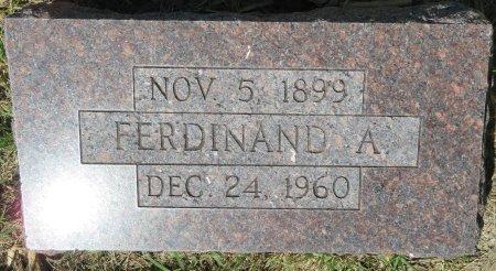 BROCKHAUS, FERDINAND A. - Roberts County, South Dakota | FERDINAND A. BROCKHAUS - South Dakota Gravestone Photos