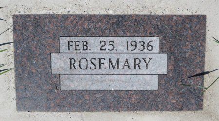 BROCKHAUS, ROSEMARY - Roberts County, South Dakota | ROSEMARY BROCKHAUS - South Dakota Gravestone Photos