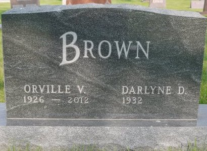 BROWN, DARLYNE D. - Roberts County, South Dakota | DARLYNE D. BROWN - South Dakota Gravestone Photos
