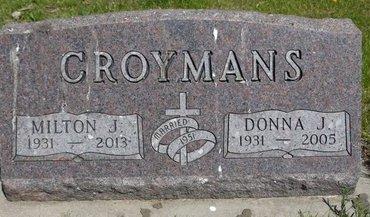 CROYMANS, MILTON J. - Roberts County, South Dakota | MILTON J. CROYMANS - South Dakota Gravestone Photos