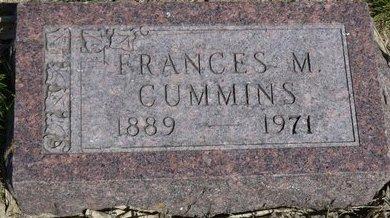 CUMMINS, FRANCES M. - Roberts County, South Dakota | FRANCES M. CUMMINS - South Dakota Gravestone Photos