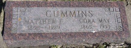 CUMMINS, CORA MAY - Roberts County, South Dakota | CORA MAY CUMMINS - South Dakota Gravestone Photos