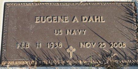 DAHL, EUGENE A - Roberts County, South Dakota   EUGENE A DAHL - South Dakota Gravestone Photos